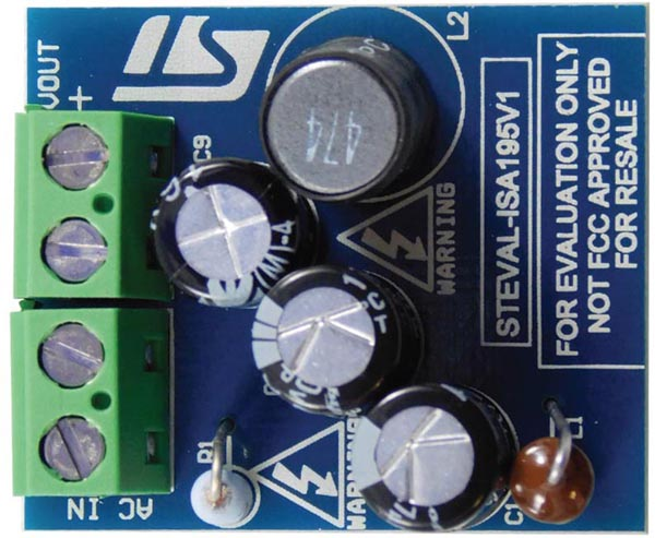 The STEVAL-ISA95V1 Evaluation Board