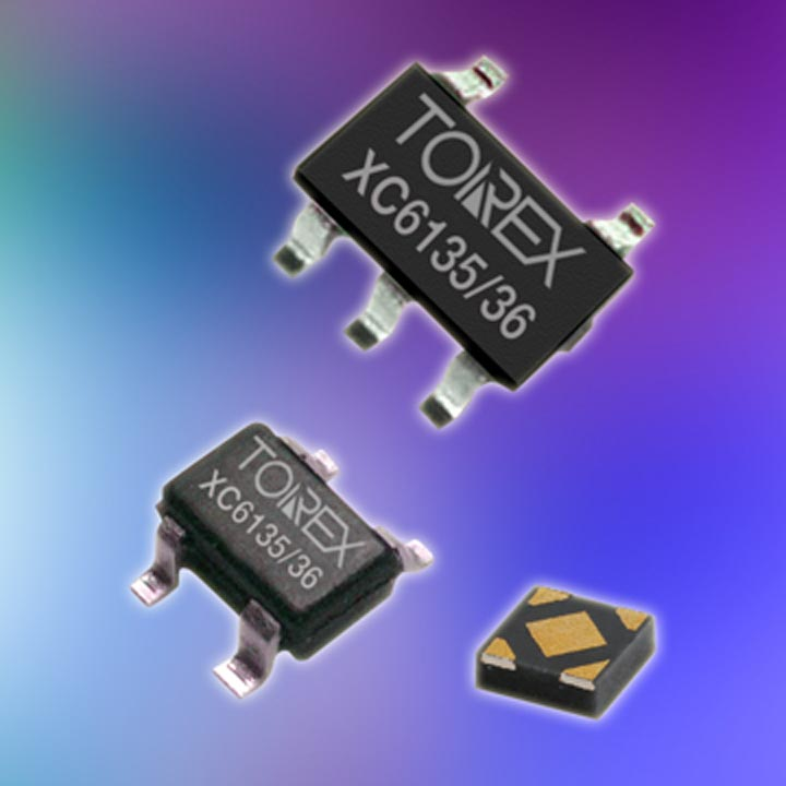 High-precision Voltage Detectors with Operational Instability Prevention Functions XC6135/XC6136 Series