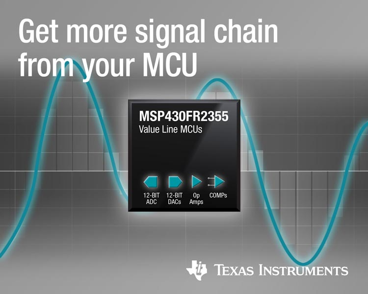 Integration its core New MSP430 MCUs