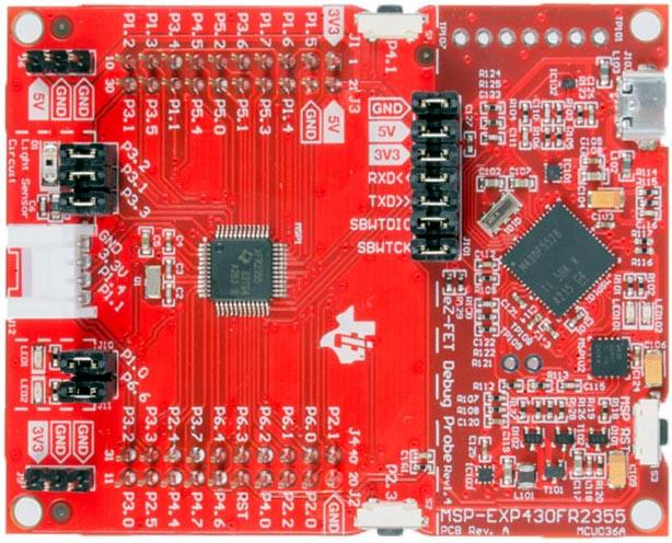 The MSP-EXP430FR2355 Development Kit