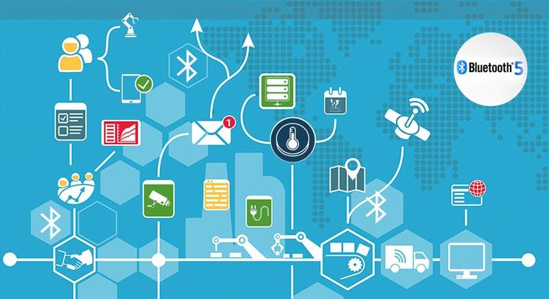 Bluetooth 5 готов к требованиям IoT и IIoT