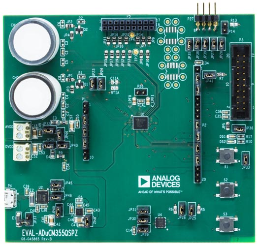 EVAL-ADuCM355QSPZ Evaluation Board
