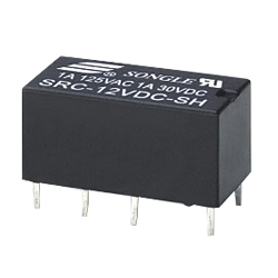 Datasheet Songle Relay SRC-09VDC-SH
