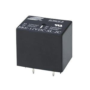Datasheet Songle Relay SRE-18VDC-FL-2A