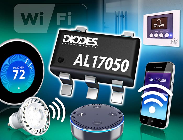 Offline Buck Converter for the IoT Applications from Diodes Incorporated
