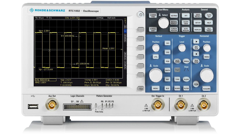 Rohde&Schwarz RTC1002 + RTC-B223  Oscilloscope