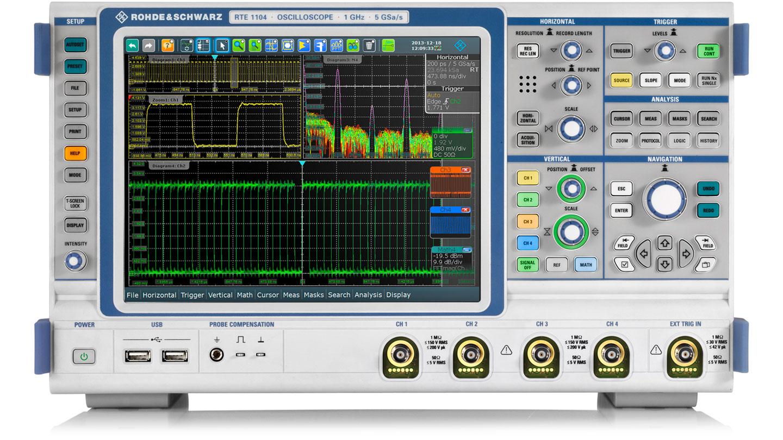 Rohde&Schwarz RTE1024  Oscilloscope