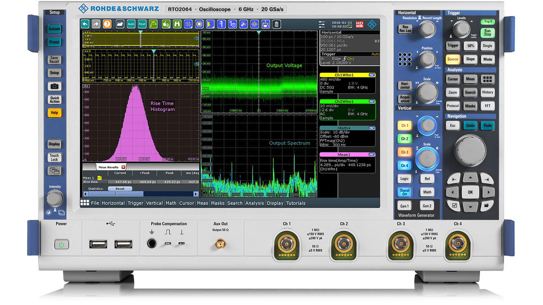 Rohde&Schwarz RTO2044  Oscilloscope