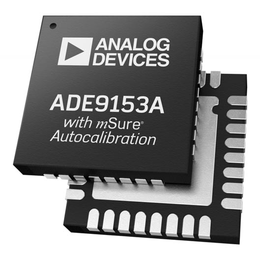 Analog Devices' Self-Calibrating Energy Metering IC Simplifies Embedded Electricity Measurement