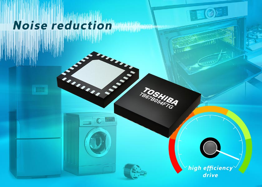 Toshiba adds new three-phase brushless fan motor controller IC
