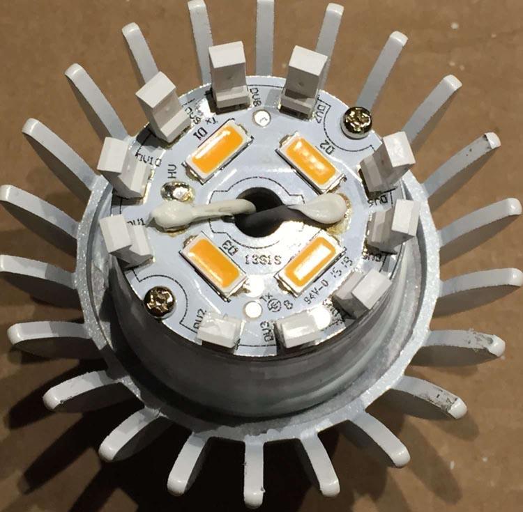 Teardown: A19 LED bulb