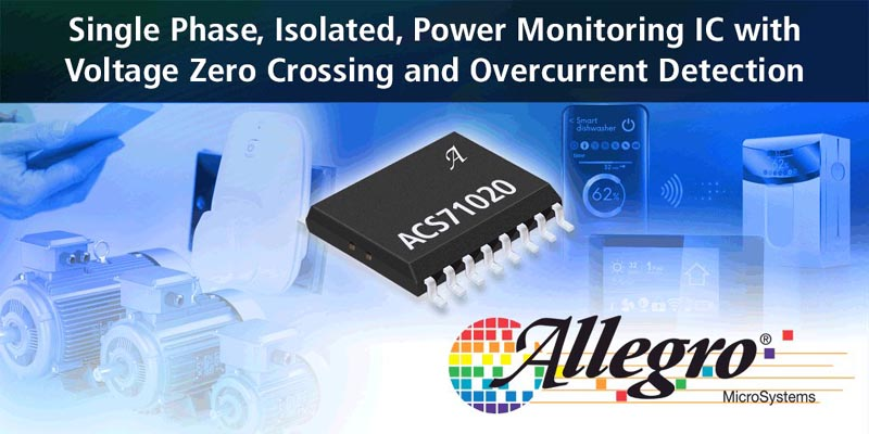 Releases a Fully Integrated, Monolithic Power Monitoring IC with Reinforced Isolation