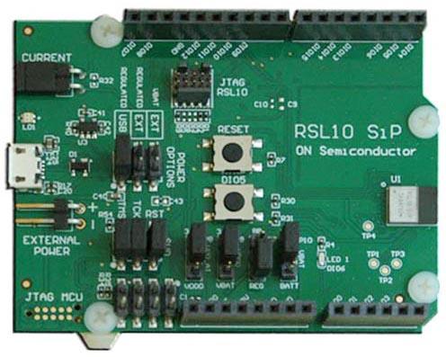 RSL10-SIP-001GEVB: RSL10 SIP Development Board