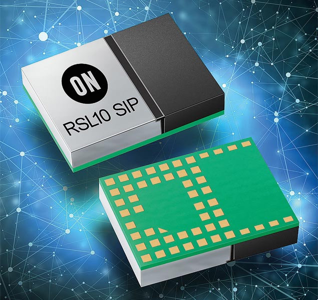 ON Semiconductor Expands Bluetooth® 5 Radio Family with System-in-Package (SiP) Module