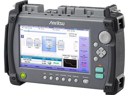 Корпорация Anritsu представляет серию портативных оптических рефлектометров для волоконно-оптических кабелей в транспортных сетях LTE и 5G