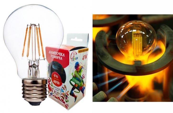 В России запускается в производство новый тип светодиодных ламп