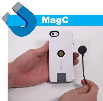 Беспроводные магнитные разъемы MagC