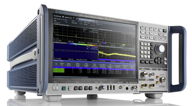 Rohde&Schwarz introduces the all-new R&S FSW with enhanced analysis bandwidth and RF performance