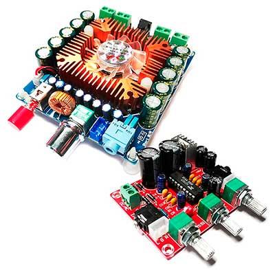 Комплект для построения аудиосистемы из модулей BM2043pro и BM2112