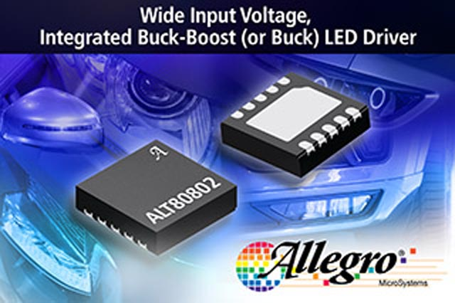 Allegro Microsystems, LLC Expands Automotive LED Drivers Portfolio with Simple Buck-Boost Solution