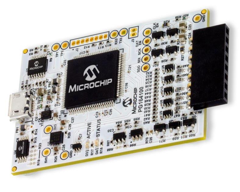 Плата программатора/отладчика MPLAB Snap