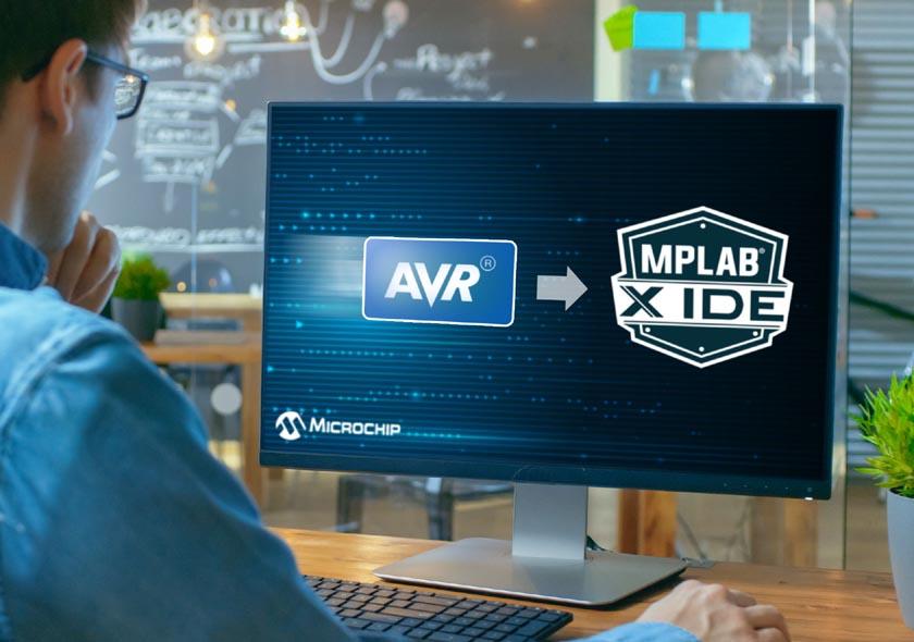 Интегрированная среда разработки MPLAB X теперь поддерживает микроконтроллеры AVR