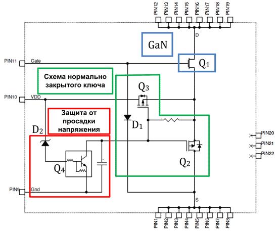 Внутренняя схема V80N65B