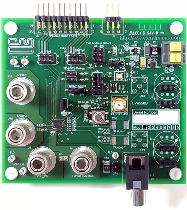 The EV6550D Evaluation Kit