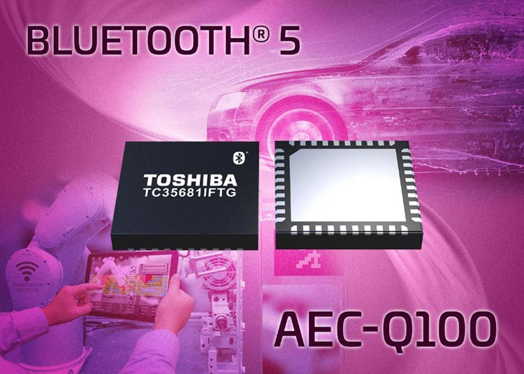 Toshiba announces Bluetooth 5 IC for automotive applications