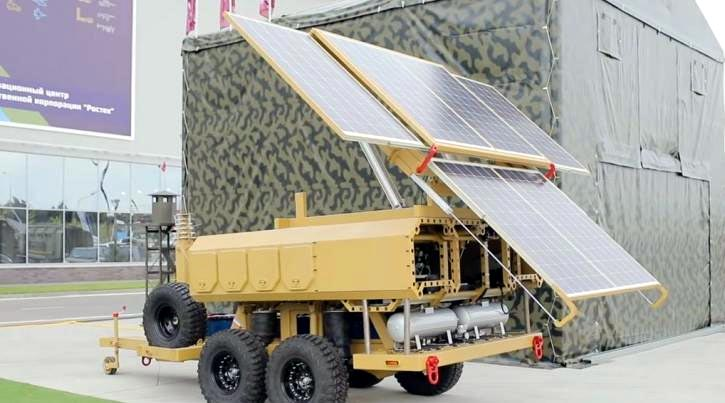 В России создана новая внедорожная мобильная солнечная электростанция с КПД 23%