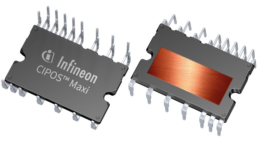 Infineon выпустила интеллектуальные силовые модули для промышленных драйверов двигателей мощностью до 1.8 кВт