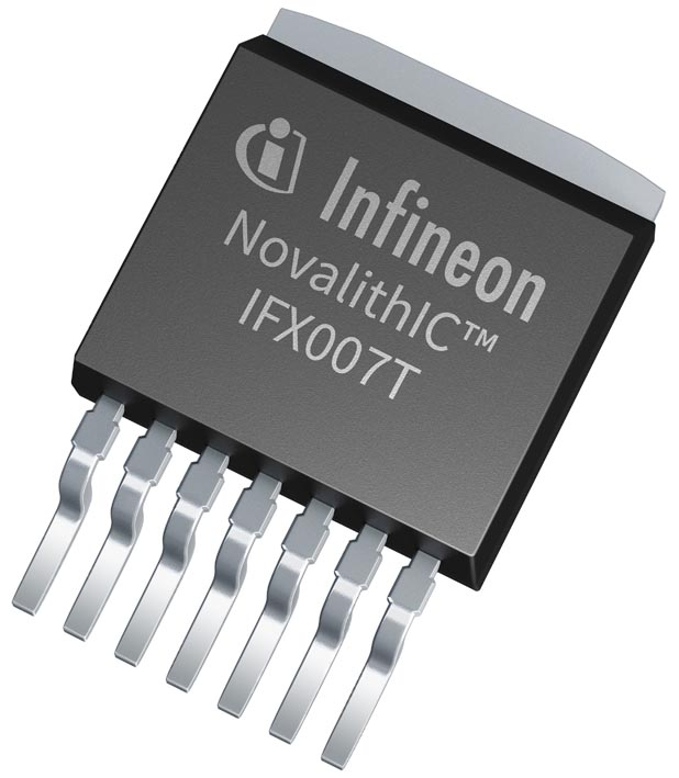 New Infineon IFX007T - An easy-to-use high power motor driver qualified for industrial and consumer applications