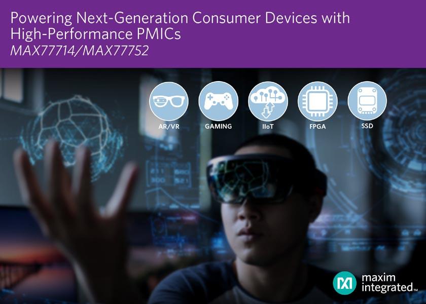Maxim выпускает многофункциональные микросхемы для управления питанием потребительских приложений следующего поколения