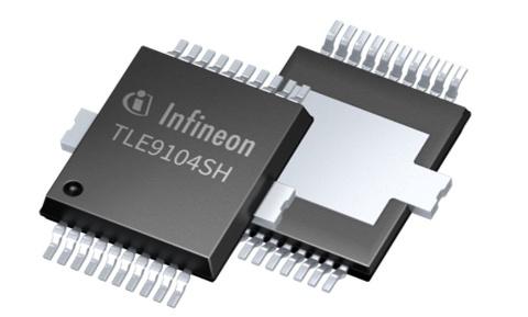 Datasheet Infineon TLE9104SHXUMA1