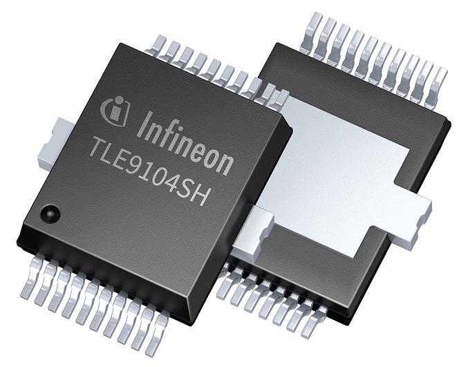 Новый интеллектуальный ключ Infineon поддерживает технологии экономии топлива в автомобильных приложениях