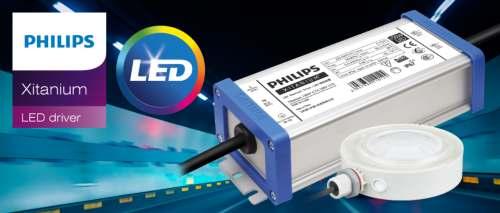 Компании Компэл и Signify приглашают на вебинар «Возможности LED-драйверов Philips Xitanium для уличного и промышленного освещения»