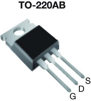 Datasheet Vishay IRF820