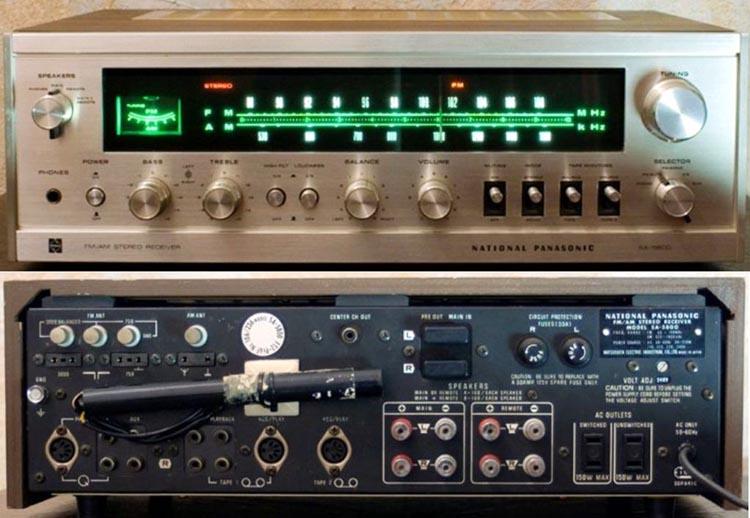National Panasonic SA-5800.