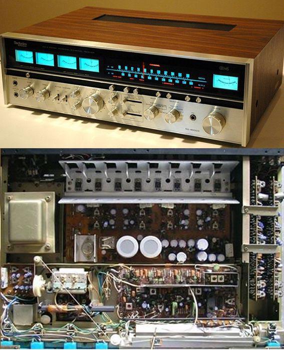 4-канальный AV ресивер Technics SA-8000X.