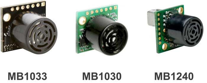 Ультразвуковые датчики MaxBotix для мобильных роботов
