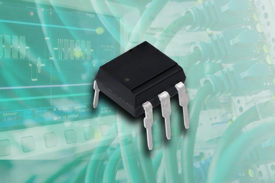 New Vishay Intertechnology 1 MBd High Speed Optocouplers Feature Schmitt-Trigger Functionality