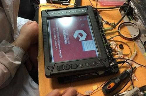 Показан первый российский защищенный планшет на процессоре Эльбрус