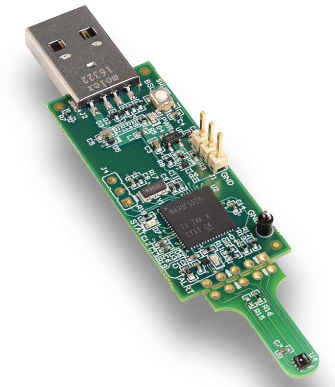 TMP117 Digital Temperature Sensor Evaluation Board (TMP117EVM)
