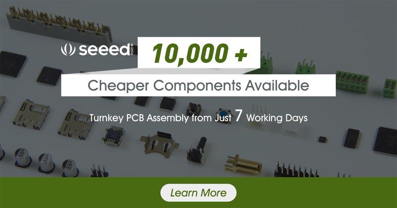 10,000 новых компонентов на складе Seeed позволят собирать печатные платы быстрее и дешевле
