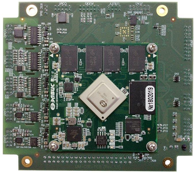 MicroMax  разработала одноплатный компьютер MM-CBE, построенный на российском процессоре Мультикор