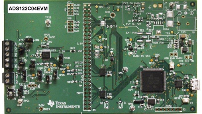 Оценочный модуль ADS122C04