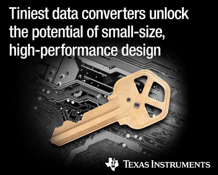 Smallest data converters deliver high integration