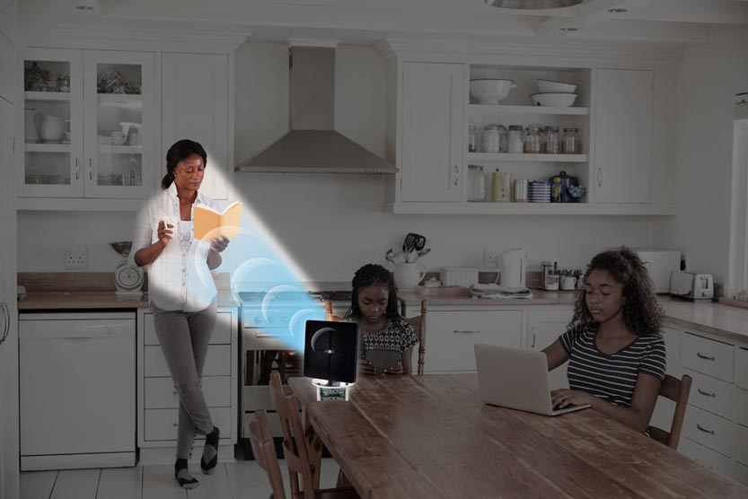 World First Personal Assistant that Beams