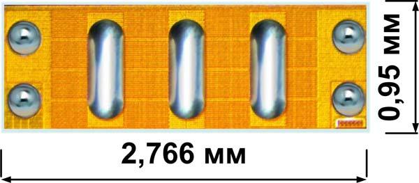 Внешний вид нитрид-галлиевого транзистора EPC2019 от компании EPC
