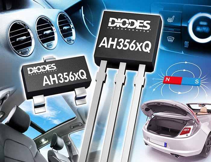 Grade Automotive-Compliant Omnipolar Hall-Effect Switches Diodes